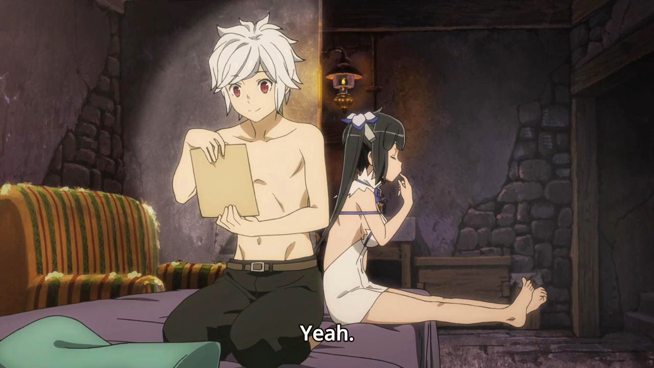 how to pick up girls at a dungeon episode 1